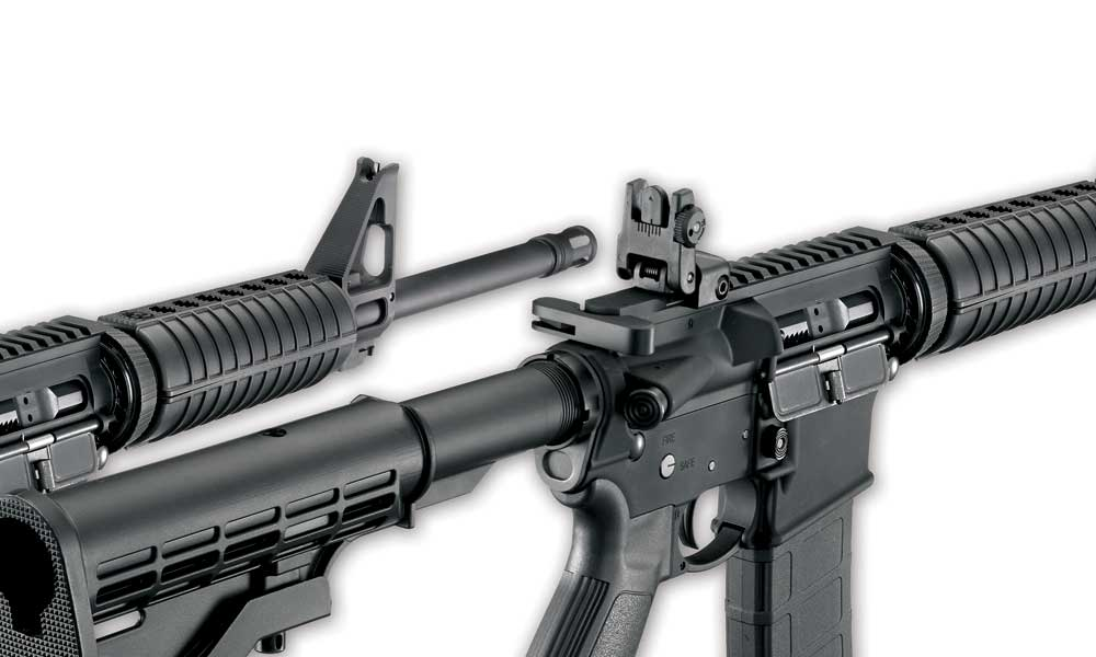 where to mount red dot sight on ar-15